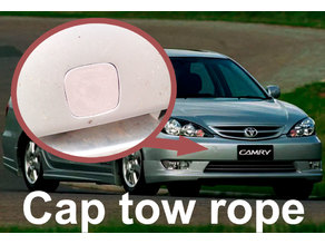 Cap tow rope for Toyota Camry