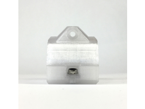 Y bearing housing with nylock nuts