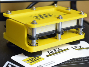 3D Printed Business Card Dispenser