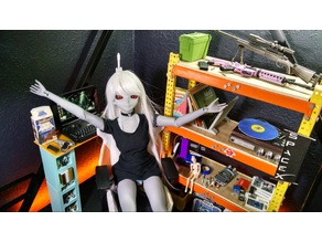 1/3 scale industrial shelf for BJD ball jointed doll