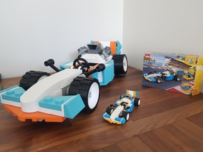 Giant Lego Creator F1 Car