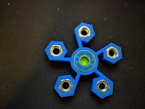 5 Nut Star Spinner
