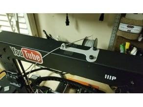 Top Bar Filament Guide (Wanhao Duplicator i3/Monoprice Maker Select)