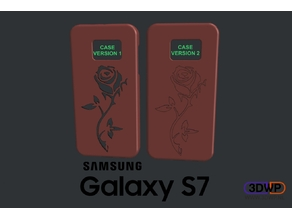 Samsung Galaxy S7 Rose Case