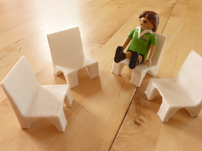Playmobil moderner Stuhl / modern chair