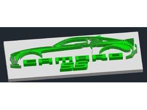3D Camaro SS Outline