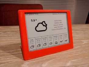 ESP32 ePaper Weatherdisplay