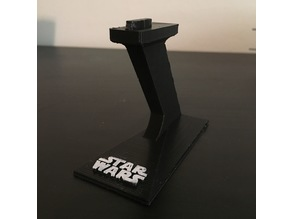 SnapTite Kylo Ren's TIE Silencer Display Stand