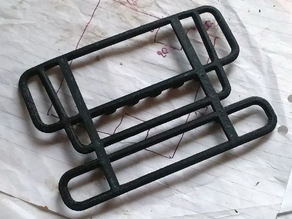 Scania front bumper