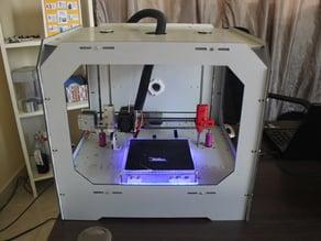 Base Extrusor EJE X SAWERS 3D