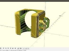 e3d v5/v6 duct clamp