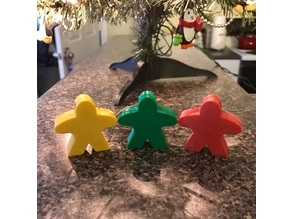 Meeple Christmas Ornament