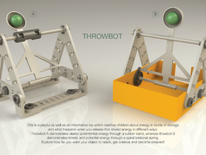 Throwbot - thinkfun expansion set