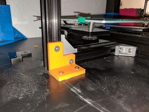 Extrusion Corner Stabilizers with Anchor tab