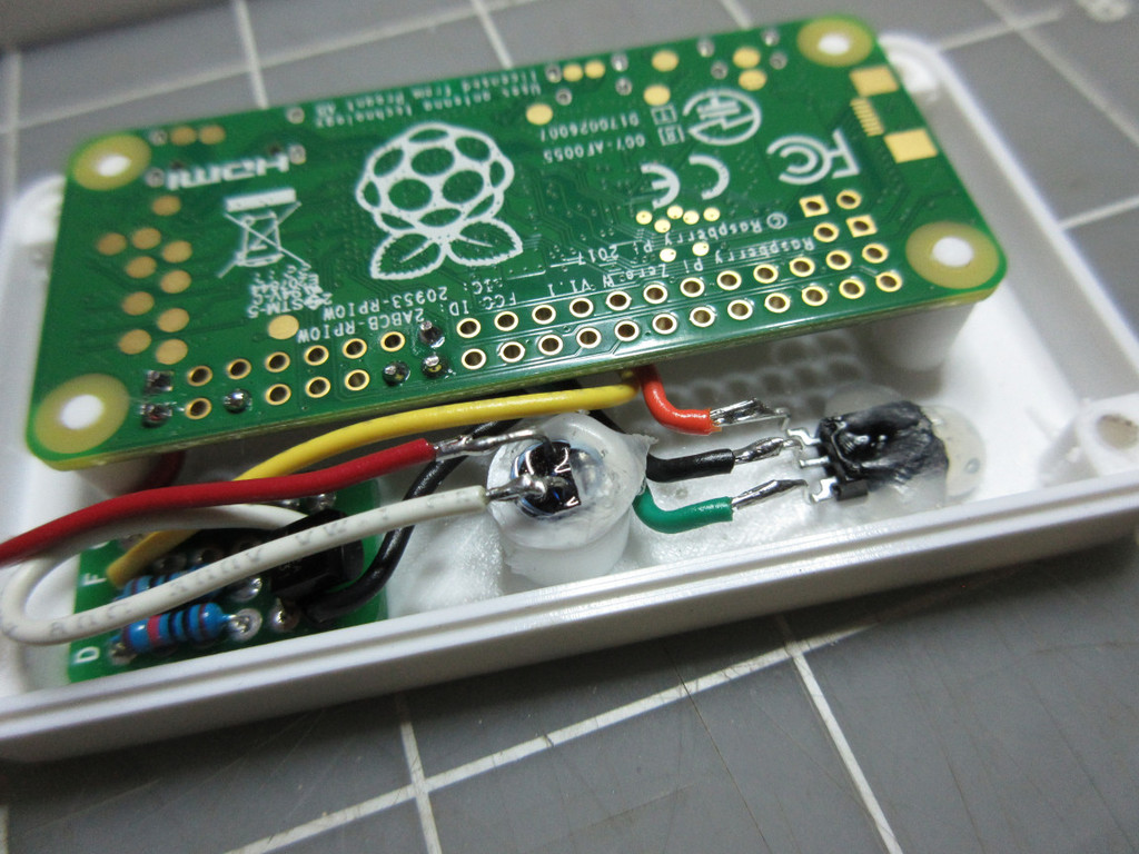 Raspberry Pi Zero IR Case by bbtinkerer - Thingiverse
