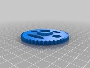 Metric Mendel Wade's Extruder Big Gear