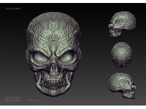 Carving skull