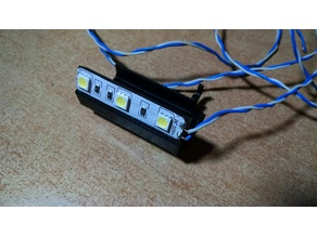 Print area led lamp for Anet A6