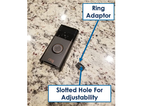 ZE Ring Video Doorbell Adaptor