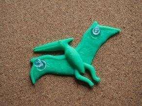 pteranodon - push pin