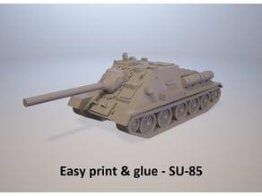 Easy print & glue - SU-85