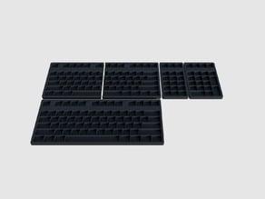 ANSI Mechanical Keyboard Keycap Tray
