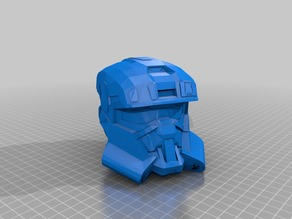 Halo Reach EDO helmet