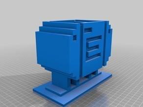 Metroid Energy tank (box & lid)