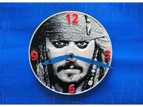 Reloj Piratas del caribe 3D