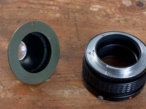 Recesky lens barrel for helicoid extension tube (Pentax K)
