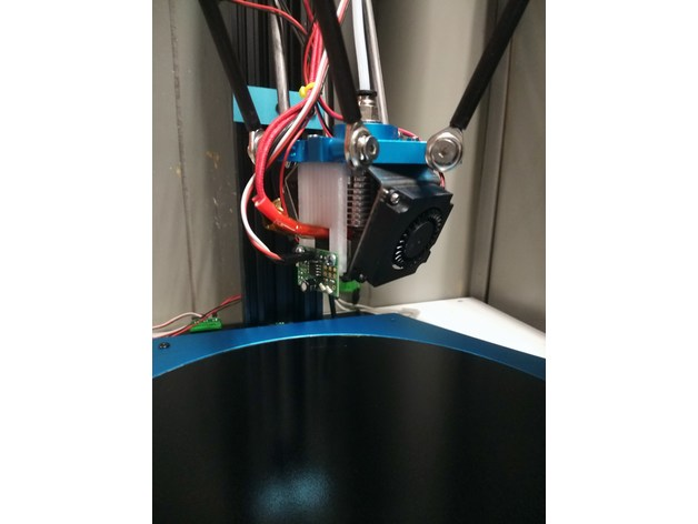 Tevo Little Monster IR Probe Mount by crpalmer - Thingiverse