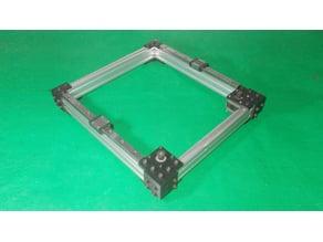 008-Homemade CoreXY Frame Core XY Cartesian Motion Platform DIY Laser Plotter Actuators 3D Printer 1