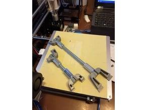 Y-Belt frame tensioner