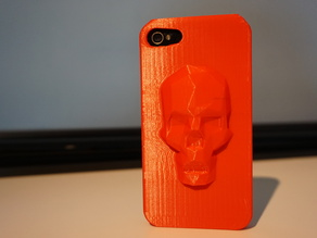 Low Poly Skull iPhone case (4, 4s, 5s, 6 and 6 plus)