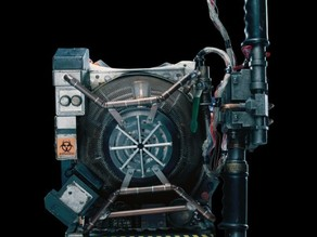 Ghostbusters 2016 Proton Pack- Toolbox/ Cryogen Chamber Lid