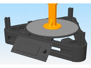 Anycubic Kossel Plus 3D Model for Simplify3D