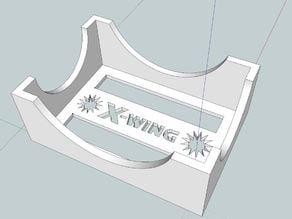 X-Wing Miniatures Sleeved Damage Deck Holder