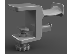 Modern table headphone holder - 20 - 32 mm [Update]