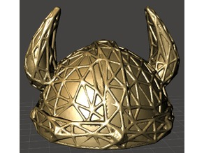 Full Viking Helmet Edges
