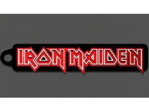 Iron Maiden Logo Keychain