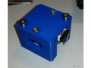 CR-10s X-Axis Cover for Vibration Damper with Camera Mount