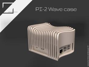 Raspberry Wave Case
