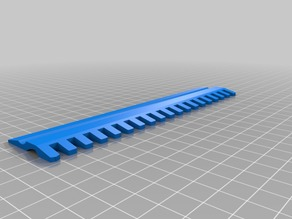 Needle alignment comb for Brother KH-930 Knitting Machine
