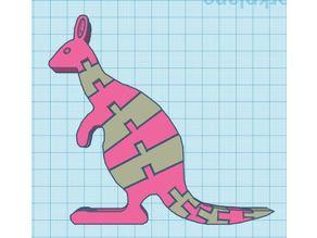 Two Color Flexi Kangaroo