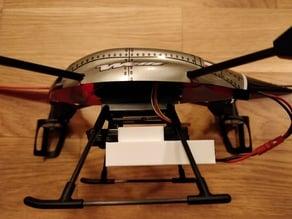 Drone battery mount