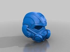 Planetside 2 Dreadnought Helmet