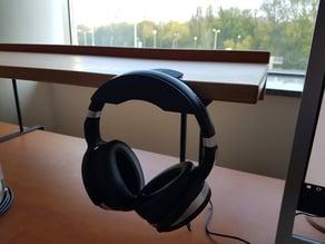 Headphone holder - parametric (generated models are ideal for Sennheiser HD 4.50)