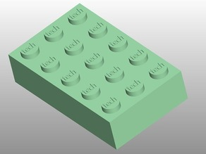 Universal Lego brick builder module for OpenSCAD