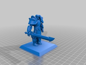 Garen - (See Description!) - League of Legends  - Miniature