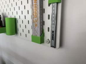 Skadis folding meter holder
